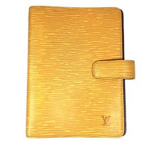 Louis Vuitton Schrijftas veelkleurig Leer