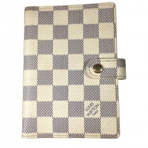 LOUIS VUITTON AGENDA FONCTIONNEL PM AUS DAMIER AZUR CANVAS