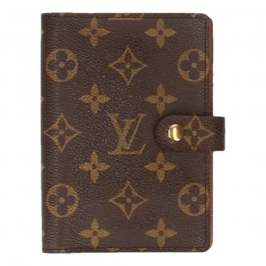 Louis Vuitton Agenda Fonctionnel PM aus Monogram Canvas Kalender, Terminplaner, Schreibmappe