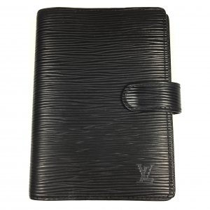 Louis Vuitton Writing Case black-gold-colored others