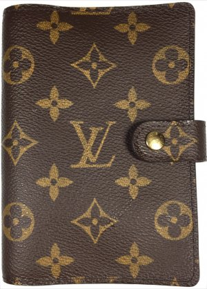 Louis Vuitton Agenda Fonctionnel PM Monogram Canvas Terminplaner Mappe