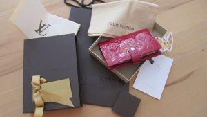 LOUIS VUITTON AGENDA Kalender Notizbuch Box Staubbeutel Rot Lack