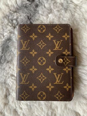 Louis Vuitton Agenda MM Monogram Canvas