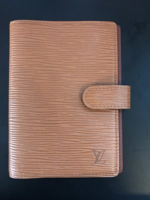 Louis Vuitton Tarjetero coñac-color oro