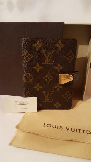 Louis Vuitton Sac de soirée brun-doré cuir