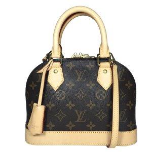 Louis Vuitton Alma BB Tasche Handtasche Umhängetasche Monogram Canvas