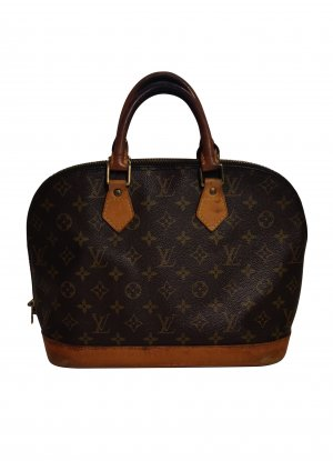 Louis Vuitton Bolso marrón fibra textil