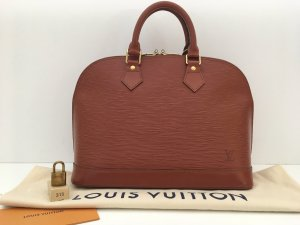 Louis Vuitton Sac Baril cognac cuir
