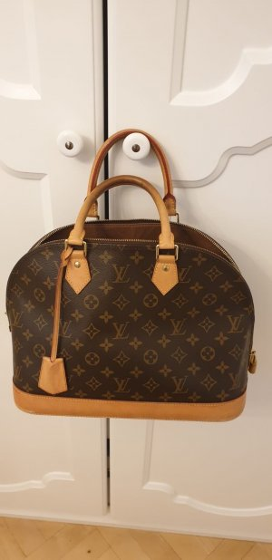 Louis Vuitton Sac Baril brun-beige