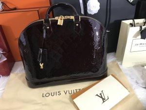 Louis Vuitton Alma GM Amarente mit Rechnung