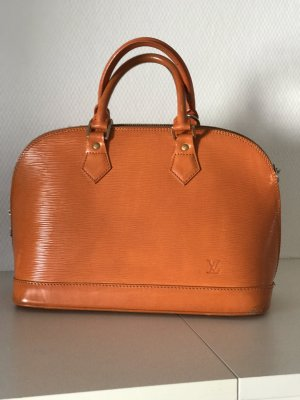 Louis Vuitton Alma in EPI Leder electric orange Vintage