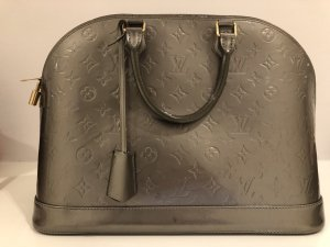 Louis Vuitton Alma MM Monogram Vernis