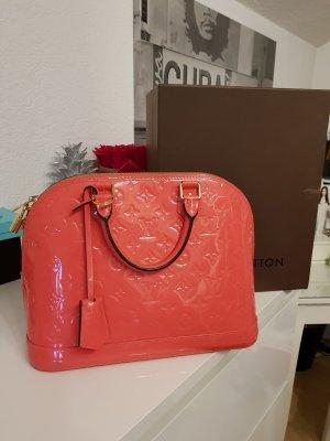 Louis Vuitton Handtas roze-roze Leer