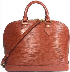 Louis Vuitton Alma PM Epi Leder Kenyan Fawn Braun Tasche Handtasche