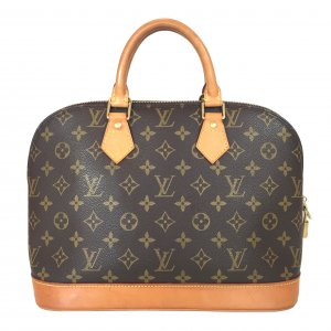 LOUIS VUITTON ALMA PM HENKELTASCHE AUS MONOGRAM CANVAS