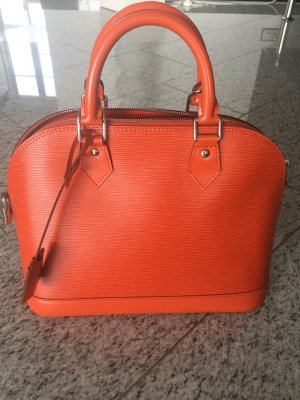 Louis Vuitton Alma PM in orange EPI Leder wie NEU