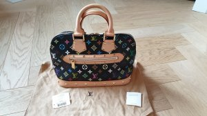 Louis Vuitton Alma PM Monogram Multicolor Schwarz