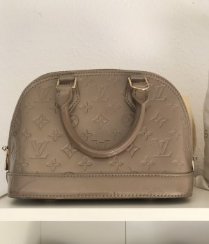 Louis Vuitton Sac marron clair-doré cuir