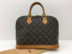 Louis Vuitton Sac à main brun cuir