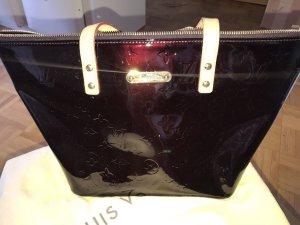Louis Vuitton Sac seau bordeau cuir