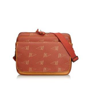 Louis Vuitton Sac bandoulière rouge chlorofibre