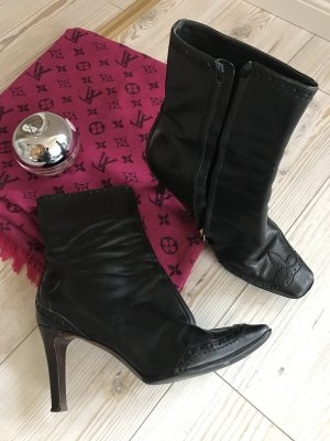 LOUIS VUITTON Ancle Bootie Gr.38 getragen