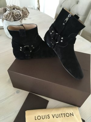 Louis Vuitton Low boot noir cuir