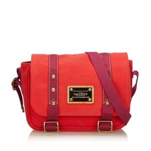 Louis Vuitton Borsa a tracolla rosso