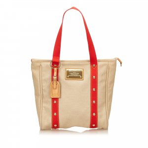 Louis Vuitton Borsa larga beige