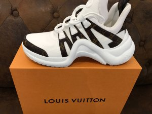 LOUIS VUITTON Archlight Sneakers white /Monogram Gr.41 Unisex NEU