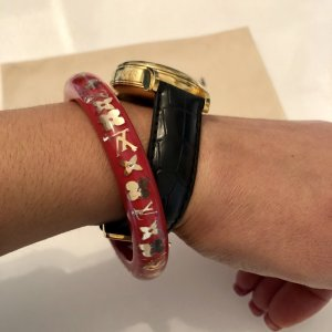 Louis Vuitton Bangle red-gold-colored