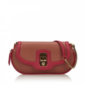 Louis Vuitton Handtas rosé Leer