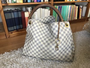 Louis Vuitton Artsy MM Azur Shopper Schultertasche Bag