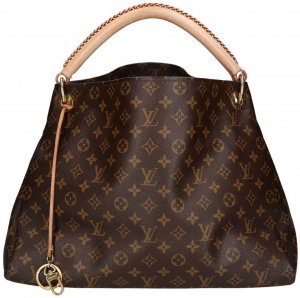 LOUIS VUITTON ARTSY MM HANDTASCHE AUS MONOGRAM CANVAS