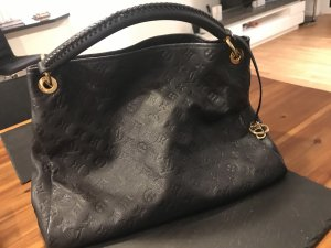 Louis Vuitton Borsetta nero-blu scuro
