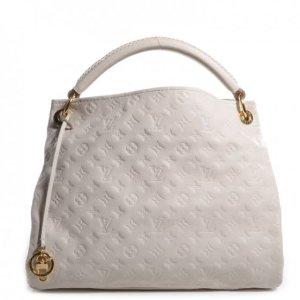 Louis Vuitton Sac à main blanc-crème