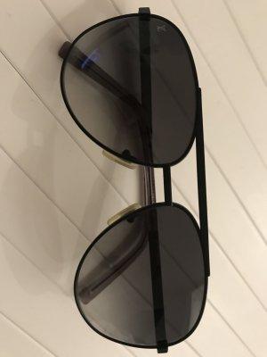 LOUIS VUITTON Attitude Pilote Sunglasses Black