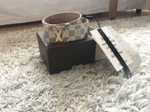 Louis Vuitton Azur Gürtel Canvas Top Luxus