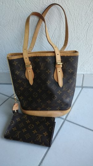 Louis Vuitton Backet PM Monogram Handtasche Tote Bag