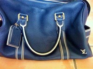 Louis Vuitton Sac à main bleu-blanc