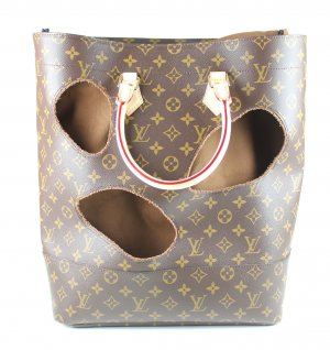 "Louis Vuitton - ""Bag with holes"" by Rei Kawakubo Tasche mit Rechnung"
