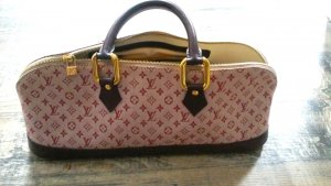 Louis Vuitton Baguette Tasche in creme bordeaux
