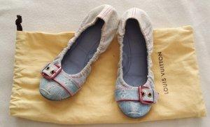 Louis Vuitton Foldable Ballet Flats pale blue