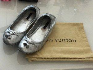 Louis Vuitton Ballerina - Gr. 39 Silber, wie neu!