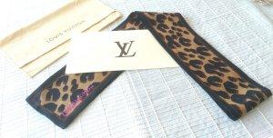 Louis Vuitton Sjaal zwart-bruin