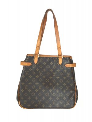 LOUIS VUITTON BATIGNOLLES VERTICAL SCHULTERTASCHE AUS MONOGRAM CANVAS