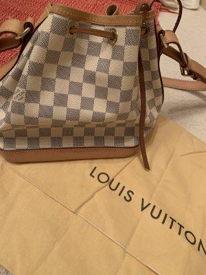 Louis Vuitton Sac à main crème-bleu azur