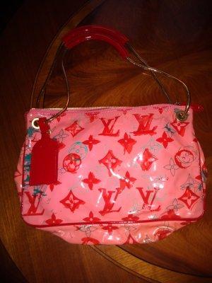 Louis Vuitton Bolsa de hombro rojo-rosa