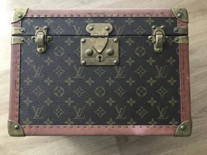 Louis Vuitton Sac brun-brun foncé cuir