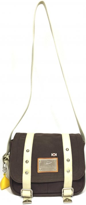 Louis Vuitton Besace Antigua Canvas Tasche Handtasche Messenger